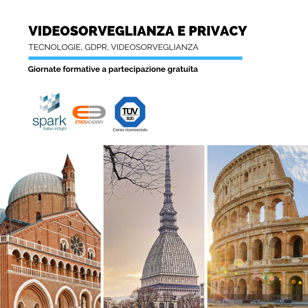 videosorveglianza e privacy eventi spark