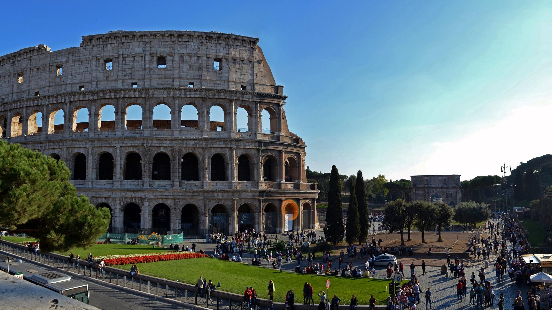 Puntale Genius per la città di Roma